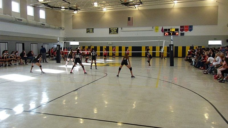 Thornton vs Centerville Junior High Volleyball Meet