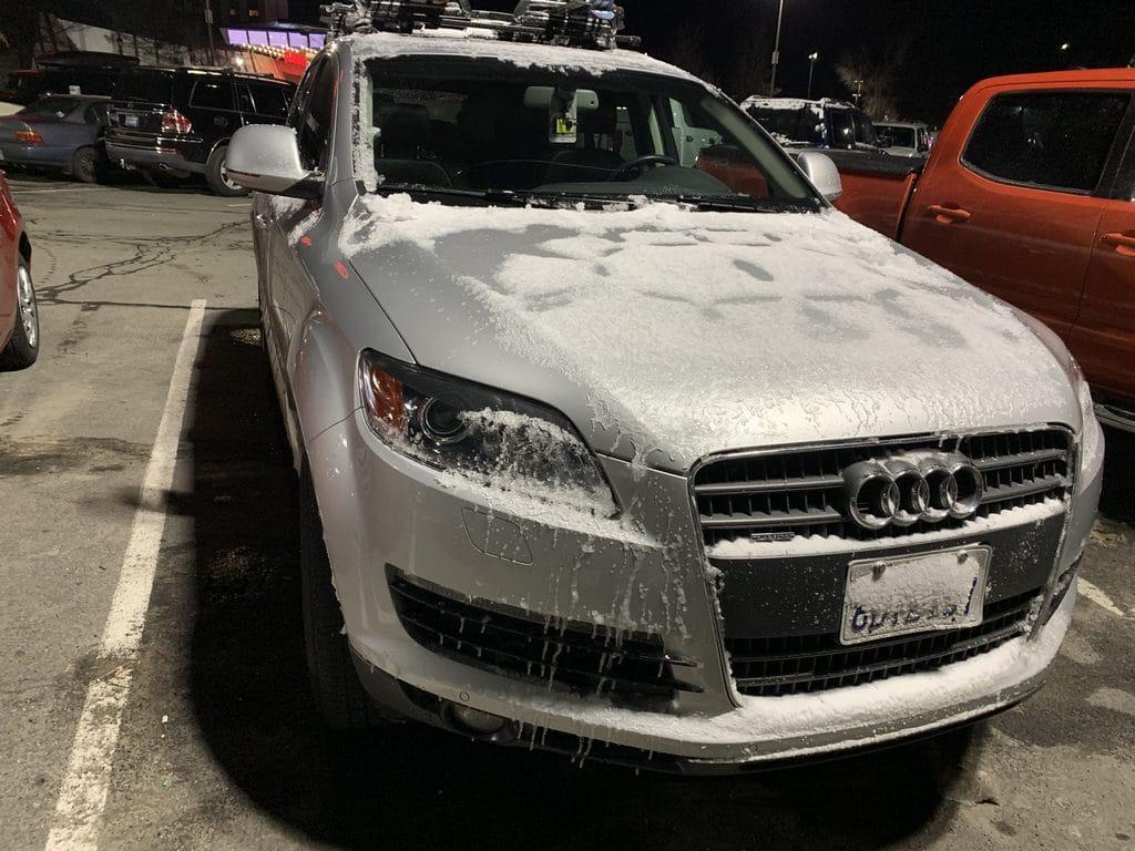 Audi Q7 After Snow Trip