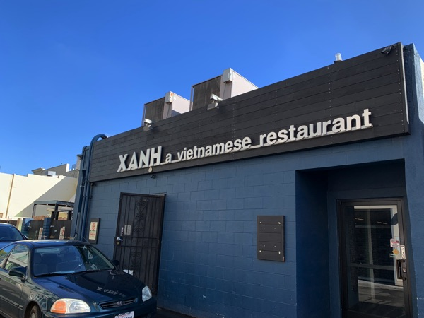 Xanh VN Restaurant in Mountain View