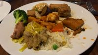Xanh Buffet dishes