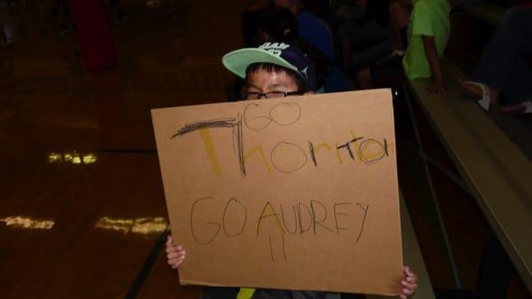 Thornton and Hopkins Junior High First Volleyball Meet