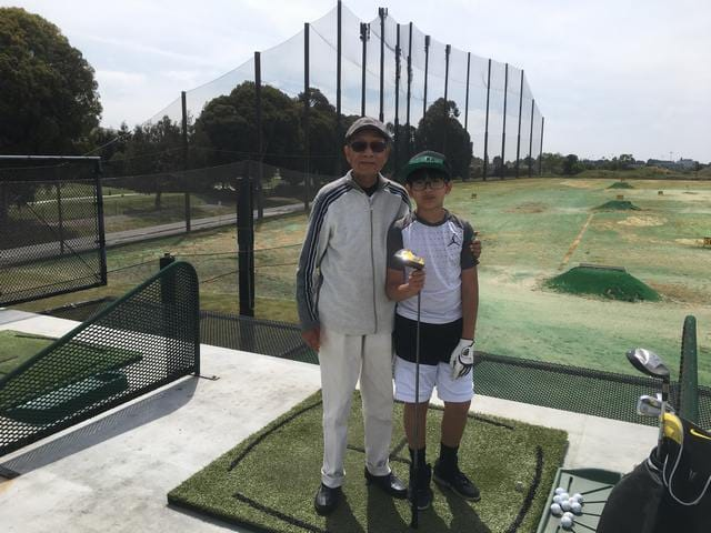 Brandon and Grand Father