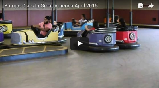 Bumper Cars In Great America
