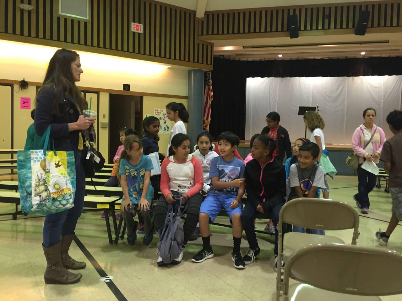 Ardenwood Elementary 4th Grade Cloverleaf Bowling Field Trip