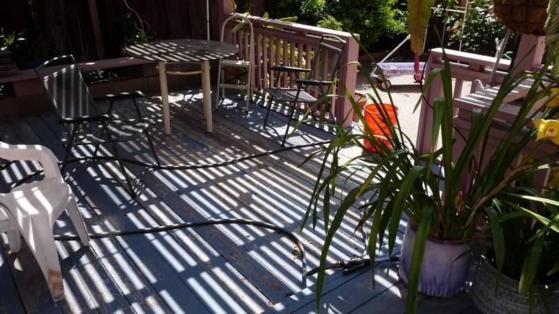 wood deck is falling apart