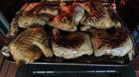 Put chicken in oven