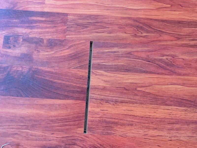 Fix Gap On Old Laminated Floor Planks