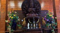 Budha Statue inside Kim Son