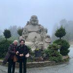 Budha Statue Outside Kim Son
