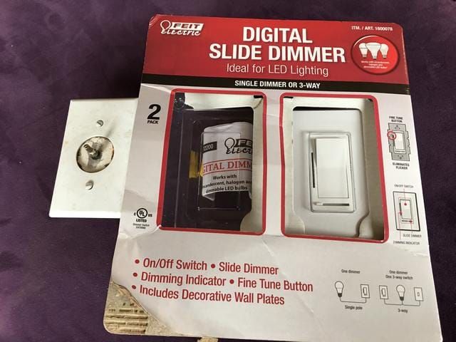 Costco LED Light Switches With Dimmer – Silicon Valley Living
