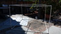 """golf net frame with 1/2"""" pcv pipes"""