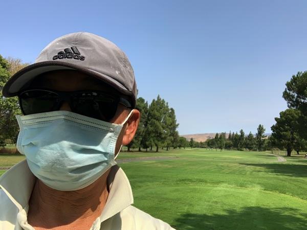 COVID-19 Golfer