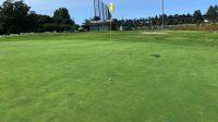 #9 hole green