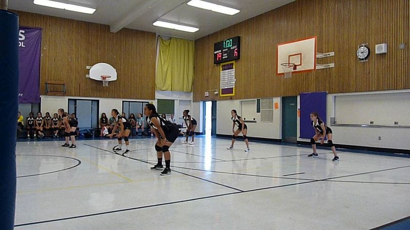 Thornton vs Walters Junior High Volleyball