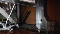 Kenmore dishwasher door spring location
