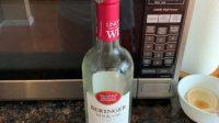 Sweet zinfandel wine