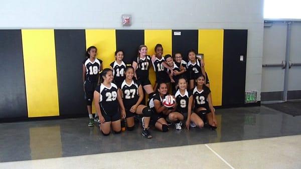 Thornton and Horner Junior High Volleyball Meet