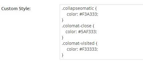 Jquery Collapse-O-Matic Plugin