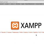 xampp localhost menu