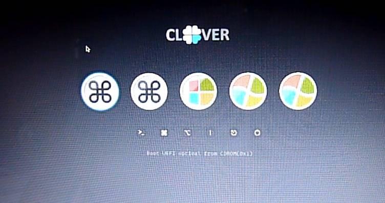 Dual Boot UEFI Windows 8 1 and Mavericks 10 9 4 Using Clover