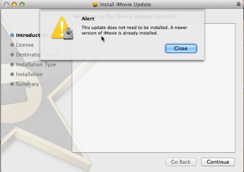 How To Update iMovie 9.0.9 After Updated 10.0.5