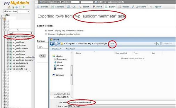 wordpress how to create a second database