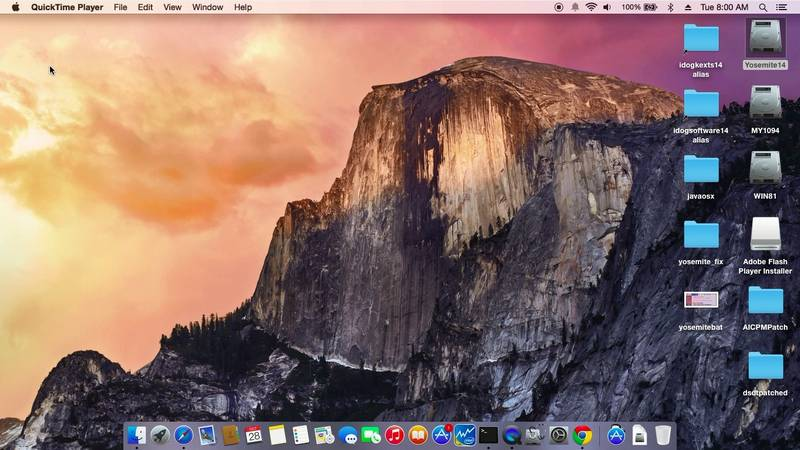 Yosemite OSX On HP Envy 4-1117nr Ultrabook