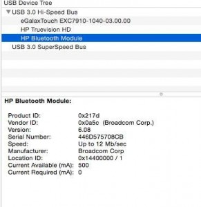 bluetooth brcm id