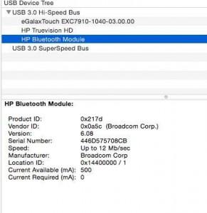 bluetooth brcm id