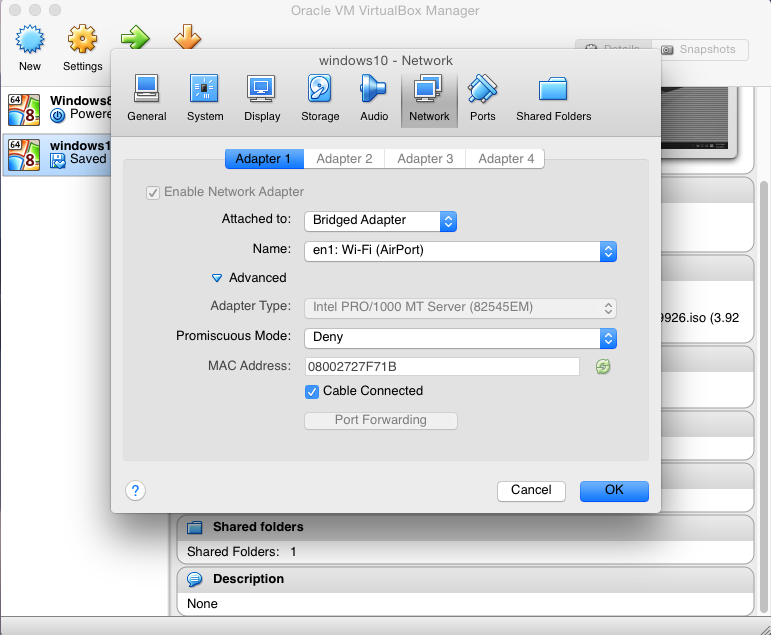 Install Windows 10 Preview To VM VirtualBox On Yosemite 10.10.1 Host