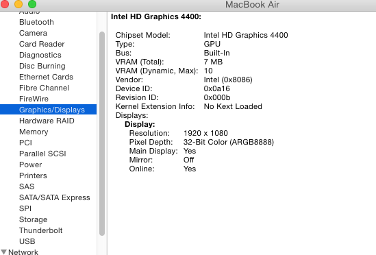 Yosemite 10 10 2 Update On Haswell HD4400 – Techs11