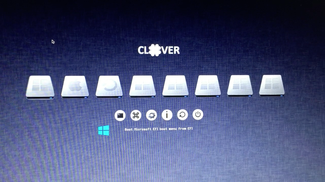 How To Dual Boot UEFI Windows and Mac Using Clover Boot