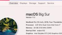 Big Sur 11.3 macBook Pro 13,2