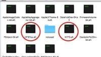 driver64uefi folder for 10.13.1