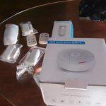 Tuya home alarm set