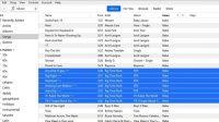 Batch songs info Editing