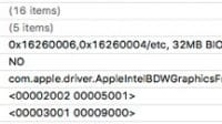 Clover KextsToPatch for Broadwell HD5500 in Xcode