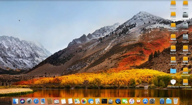 MacOS High Sierra 10.13 On Windows PCs-Laptops