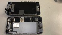 iphone 6s base and screen opened