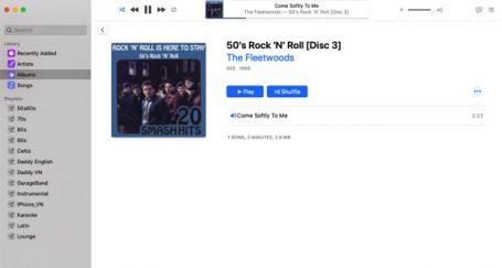 iTunes GUI