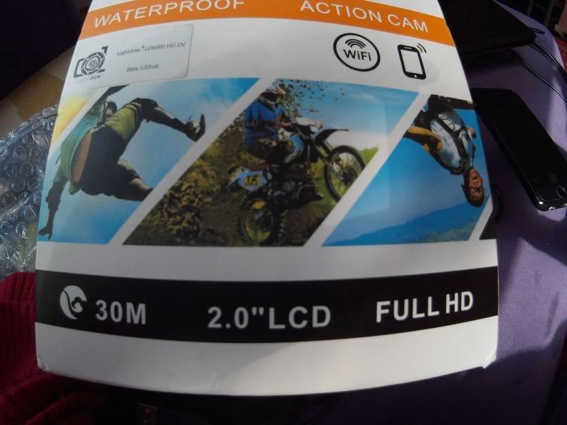 Lightdow LD6000 Wifi 1080P Action Camera