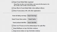 Set Up Preferences on iTunes