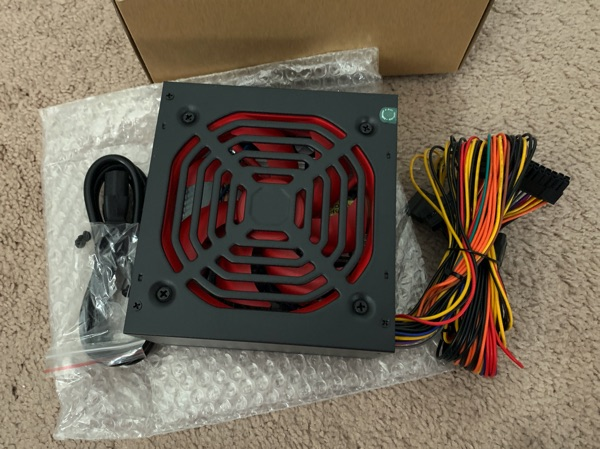 Apevia Raptor 500W Power Supply