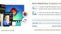 WinX MediaTrans iOS Media For Windows