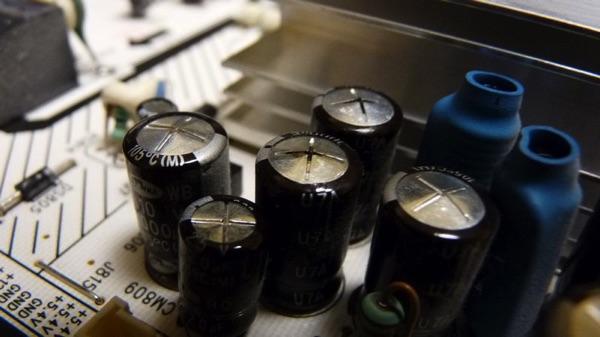 Blown Samsung Capacitors