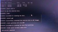 diskpart to create EFI folder